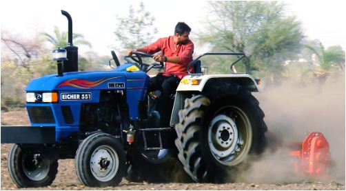 Eicher 551 Tractor Features