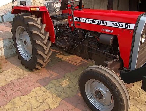 Massey Ferguson 1035 DI Dost Tractor Tyre
