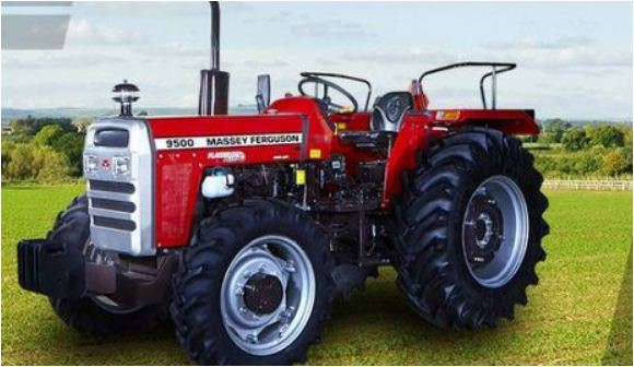 Massey Ferguson 9500 4 WD Tractor Features