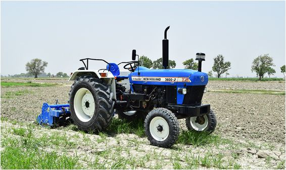 New Holland 3600-2 ALL Rounder Tractor Features