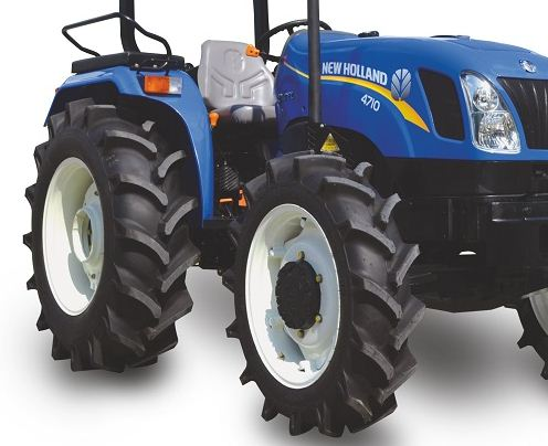 New Holland Excel 4710 Paddy Special Tractor Tyre