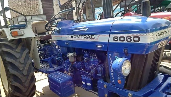 Farmtrac 6060 Executive Tractor Features