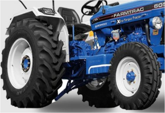 Farmtrac 6060 Executive Tractor Tyre