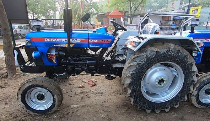 Powertrac Euro 41 Plus Tractor Features