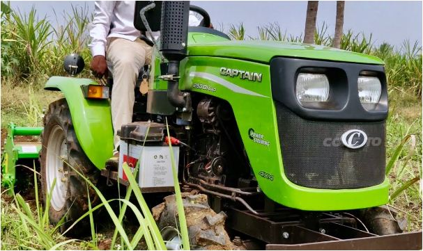 Captain 280 DI 4WD Tractor Features