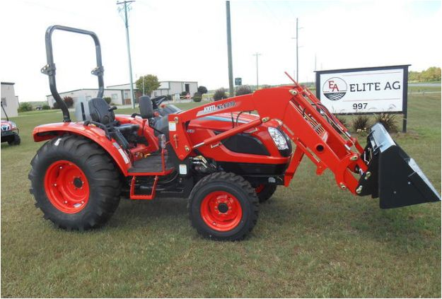 Kioti NX5510 Tractor Features