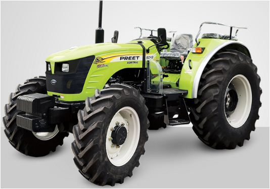 Preet 10049 4WD Tractor