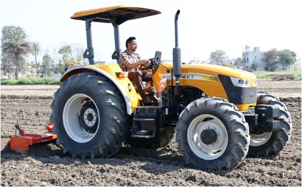 Preet 8049 4WD Tractor Features