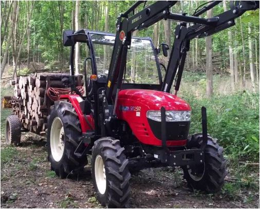 VST 5025 R Branson Tractor Features